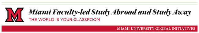 Miami Faculty-led Study Abroad